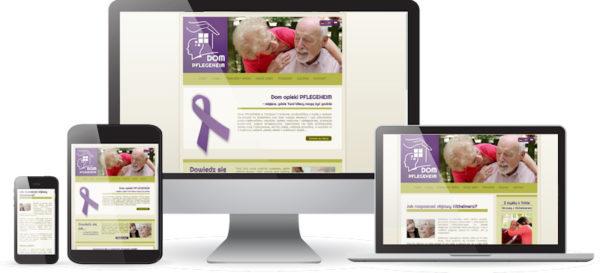 Strona internetowa dla domu opieki