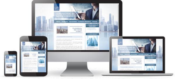 Strona internetowa dla administratora nieruchomości