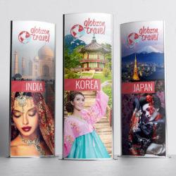 Banery reklamowe dla biura podróży