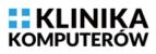 Logo serwisu komputerowego - Klinika Komputerów w Krakowie