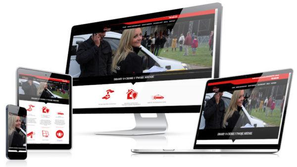 Strona internetowa agencji ochrony
