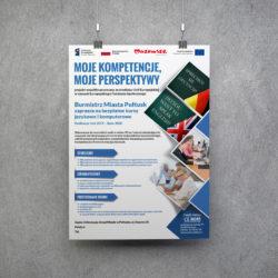Plakat B3 - projekt Klinika Komputerów - Arcom s.c.