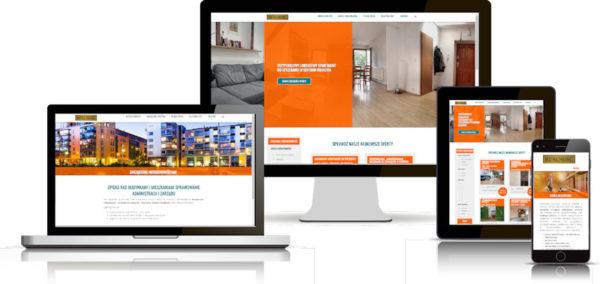 Projekt strony internetowej dla biura nieruchomości